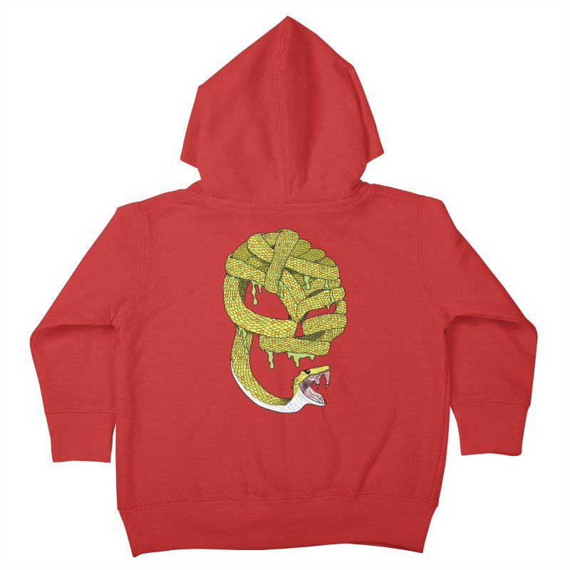 Poisonous Kids Toddler Zip-Up Hoody by Lanky Lad Apparel