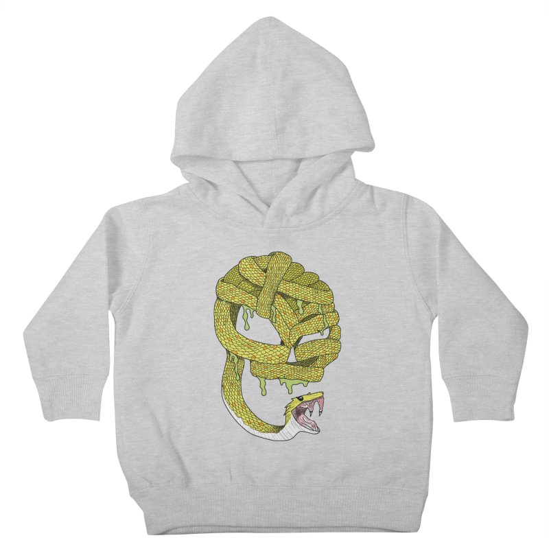 Poisonous Kids Toddler Pullover Hoody by Lanky Lad Apparel