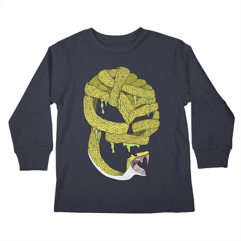 Poisonous Kids Longsleeve T-Shirt by Lanky Lad Apparel