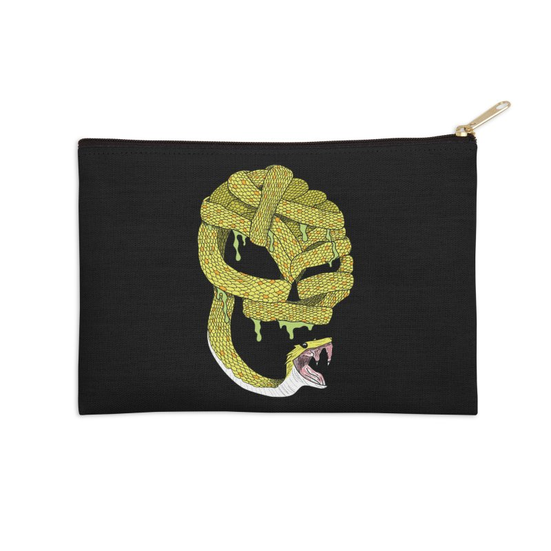 Poisonous Accessories Zip Pouch by Lanky Lad Apparel