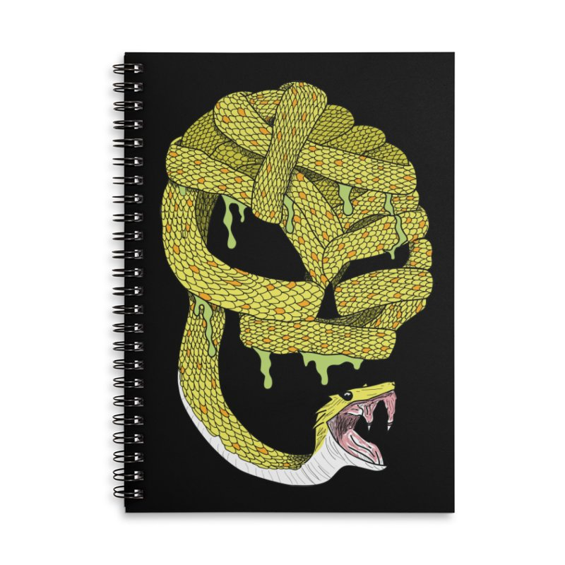 Poisonous Accessories Notebook by Lanky Lad Apparel
