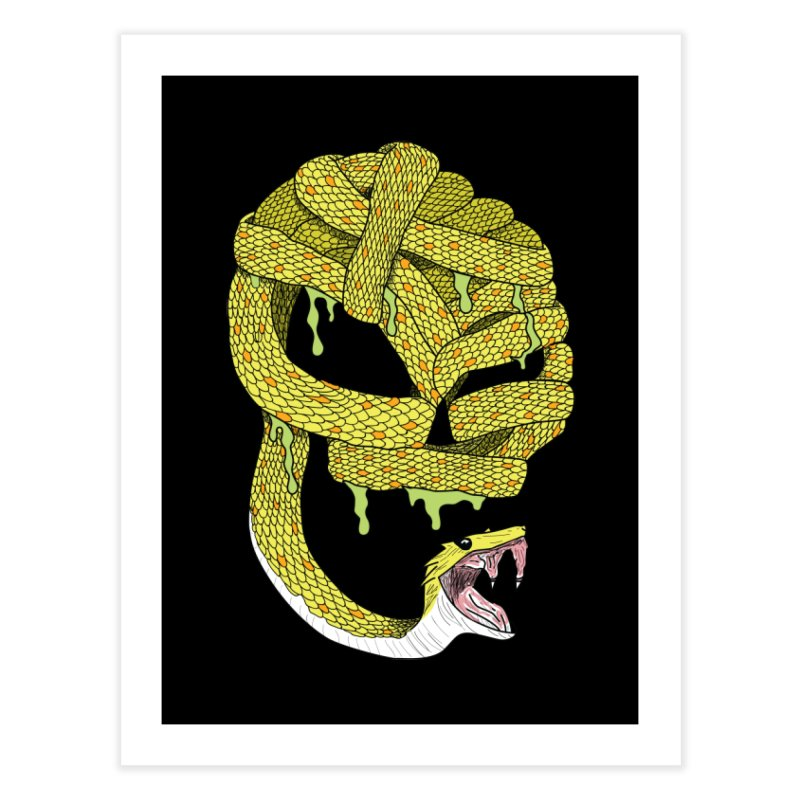 Poisonous Home Fine Art Print by Lanky Lad Apparel