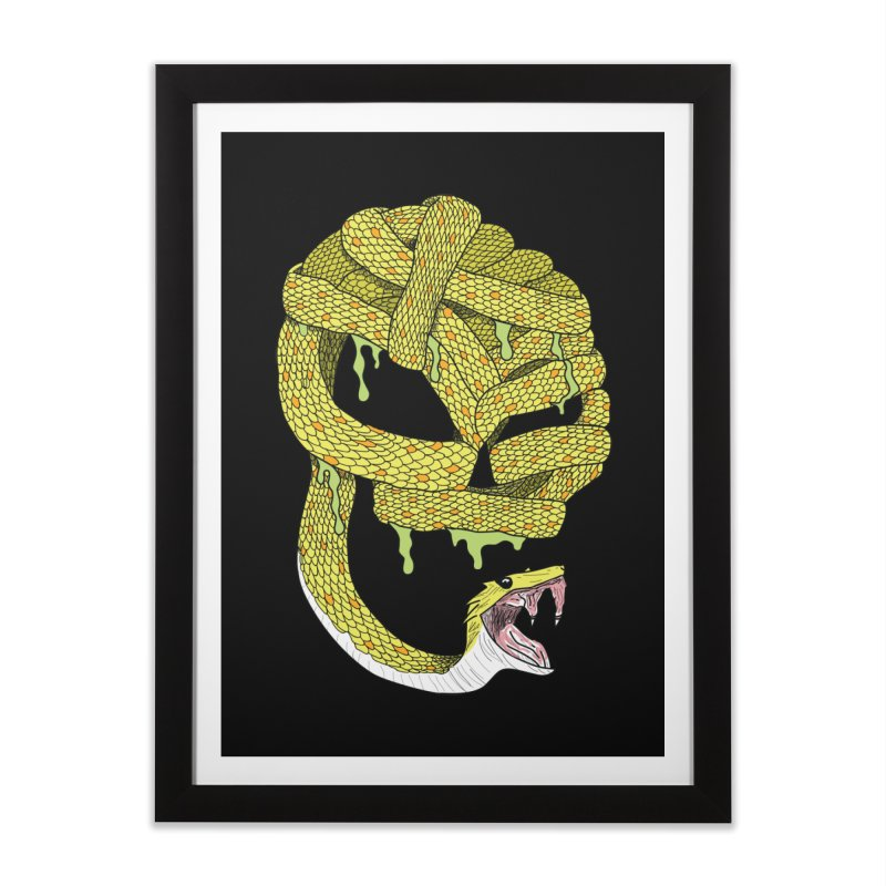 Poisonous Home Framed Fine Art Print by Lanky Lad Apparel