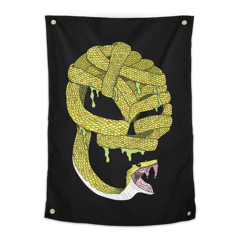Poisonous Home Tapestry by Lanky Lad Apparel