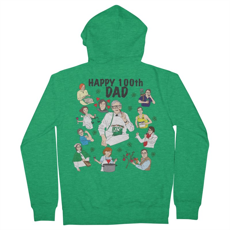 Hooper Family Men's Zip-Up Hoody by Lanky Lad Apparel