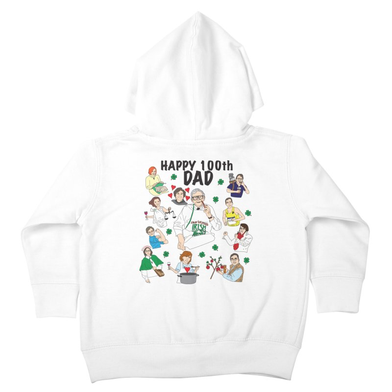 Hooper Family Kids Toddler Zip-Up Hoody by Lanky Lad Apparel