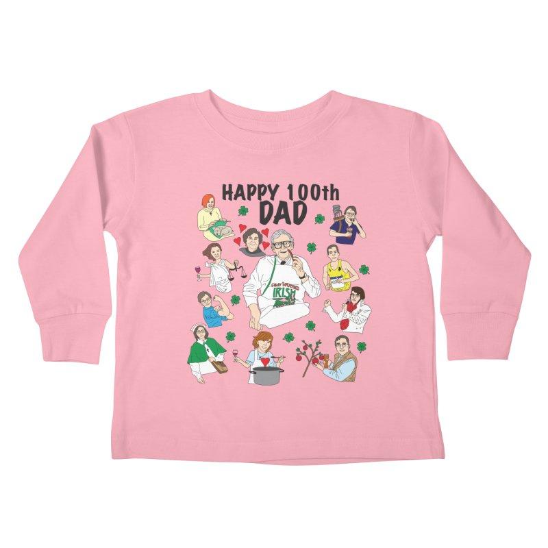 Hooper Family Kids Toddler Longsleeve T-Shirt by Lanky Lad Apparel