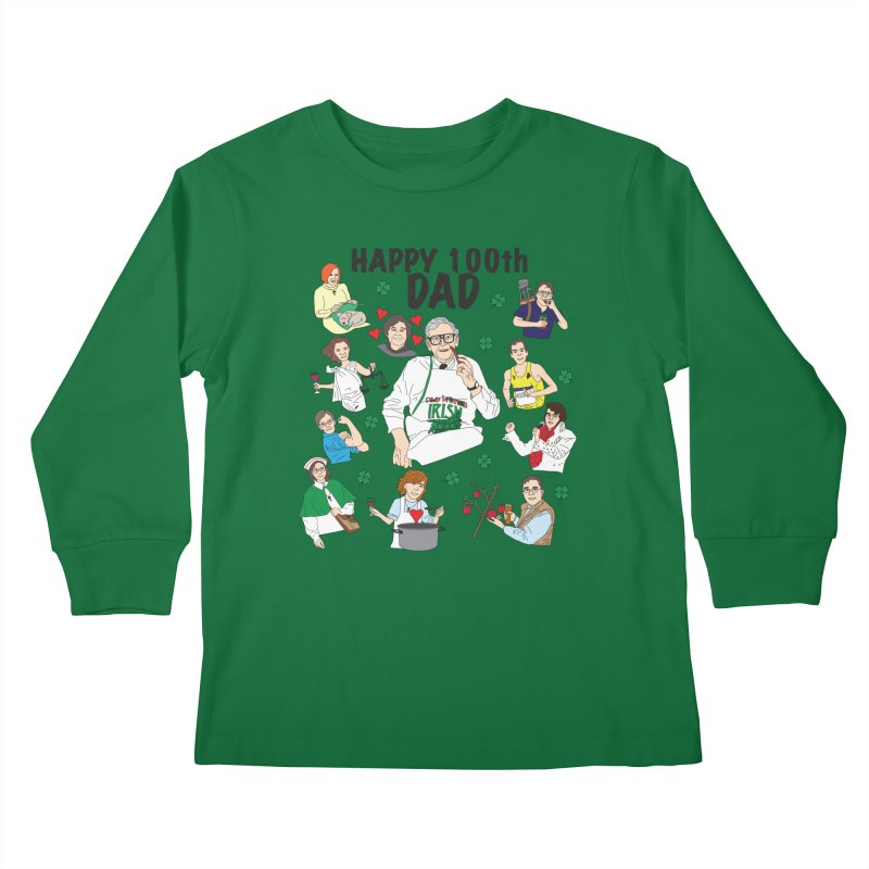Hooper Family Kids Longsleeve T-Shirt by Lanky Lad Apparel