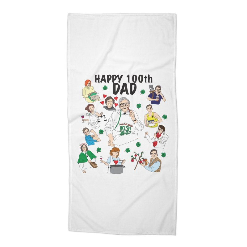 Hooper Family Accessories Beach Towel by Lanky Lad Apparel