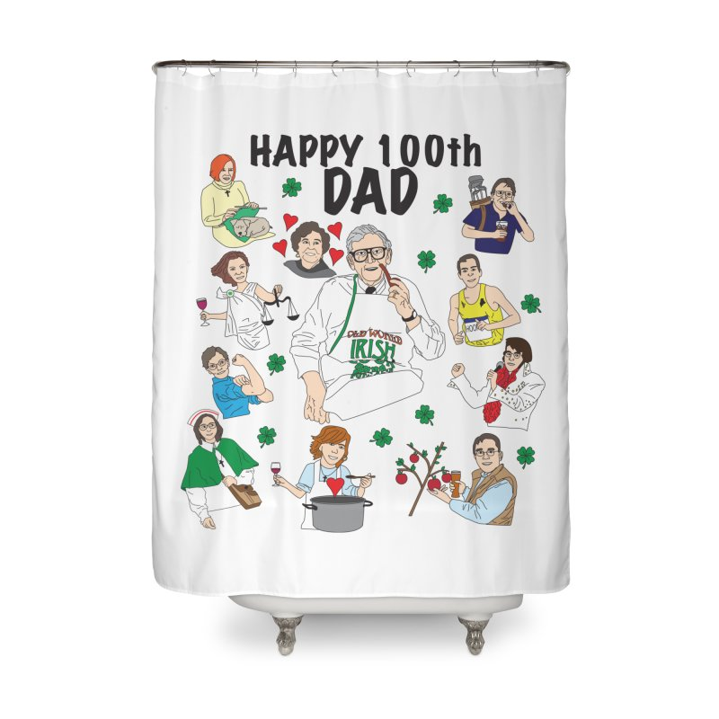 Hooper Family Home Shower Curtain by Lanky Lad Apparel