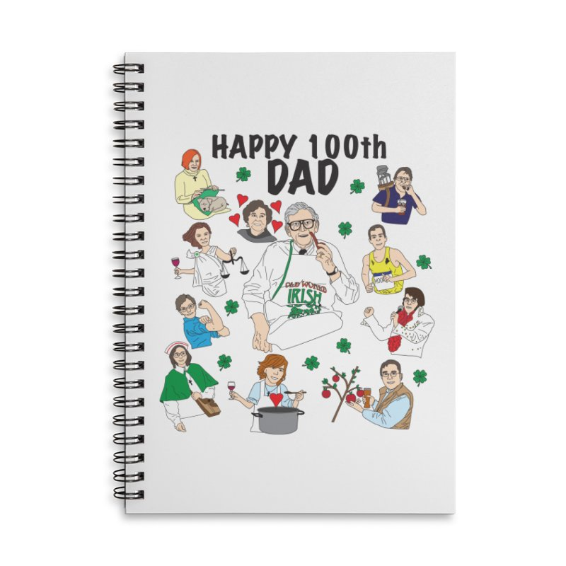 Hooper Family Accessories Notebook by Lanky Lad Apparel