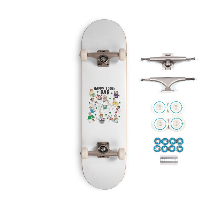 Hooper Family Accessories Skateboard by Lanky Lad Apparel