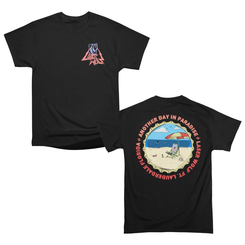 Another day in Paradise Men's T-Shirt by Laser Wolf