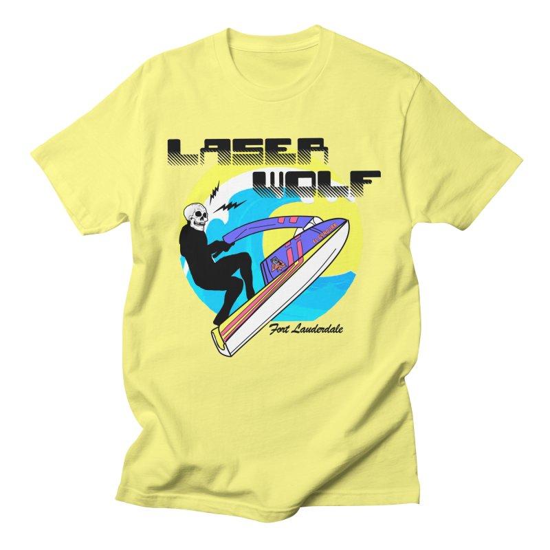 Wave Jump'r Men's T-Shirt by Laser Wolf