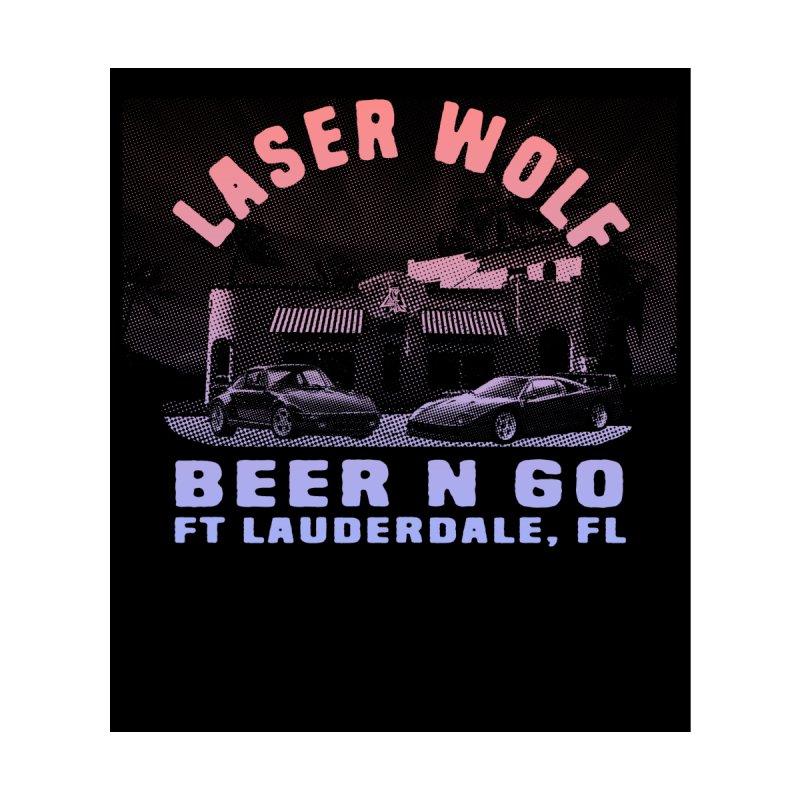 Beer N Go Men's T-Shirt by Laser Wolf