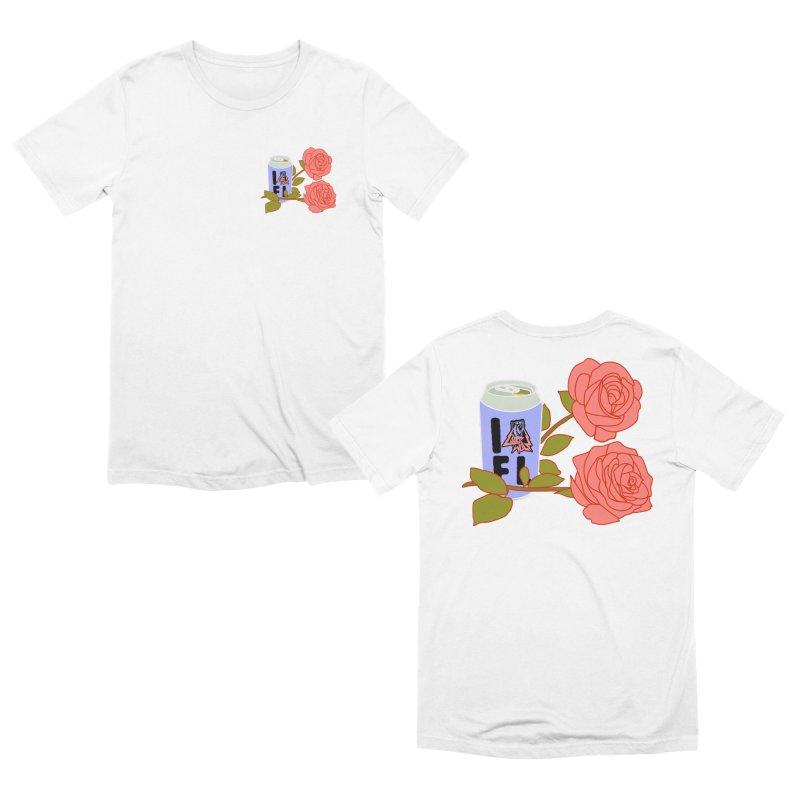 Beers N Roses Men's T-Shirt by Laser Wolf