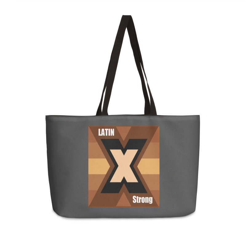LatinX Strong Accessories Weekender Bag Bag by LatinX Strong
