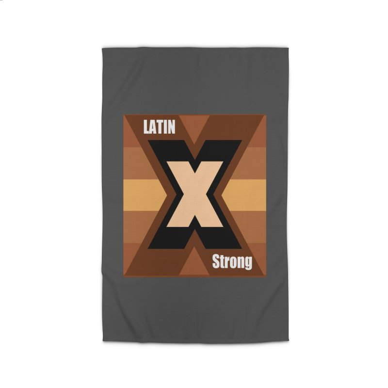 LatinX Strong Home Rug by LatinX Strong