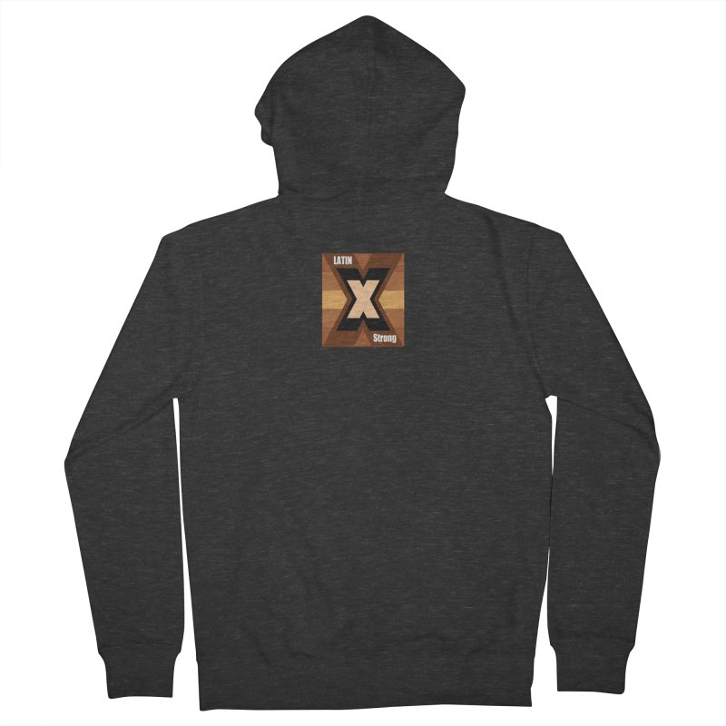 LatinX Strong Men's Zip-Up Hoody by LatinX Strong