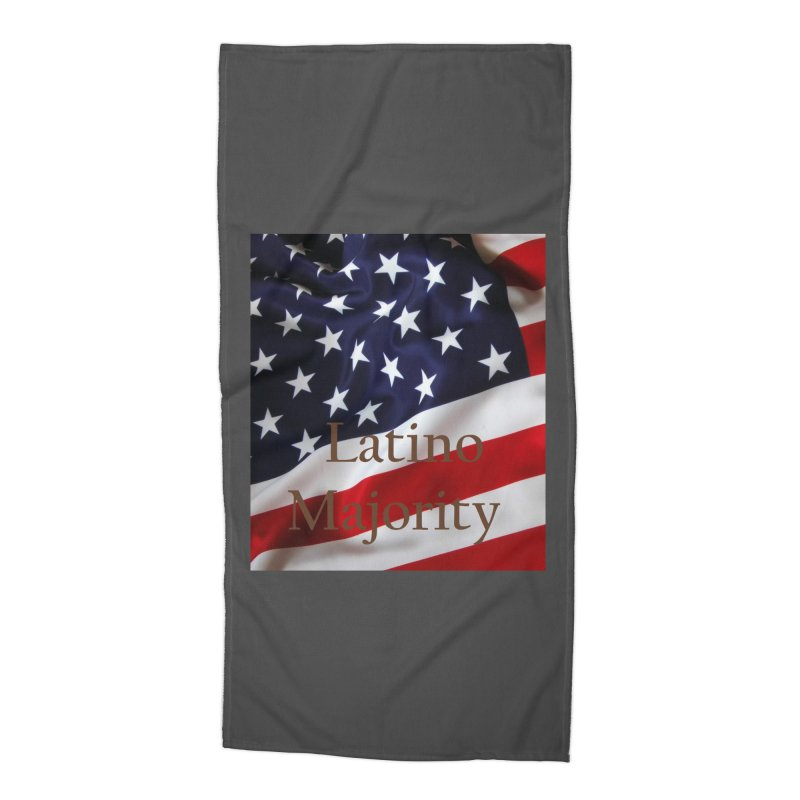 Latino Majority Accessories Beach Towel by LatinX Strong