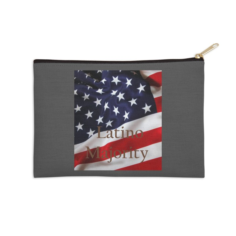 Latino Majority Accessories Zip Pouch by LatinX Strong