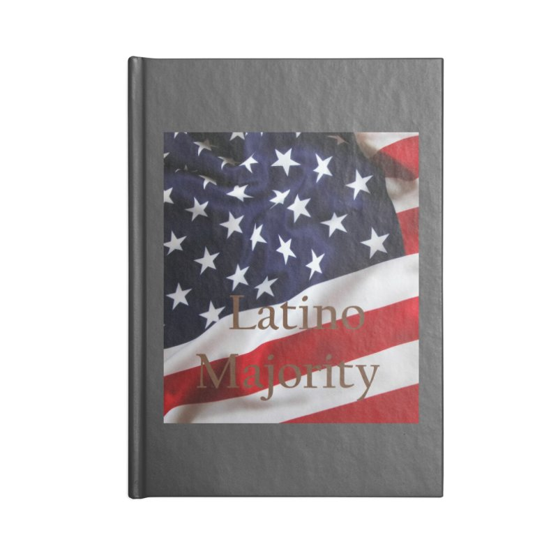 Latino Majority Accessories Lined Journal Notebook by LatinX Strong