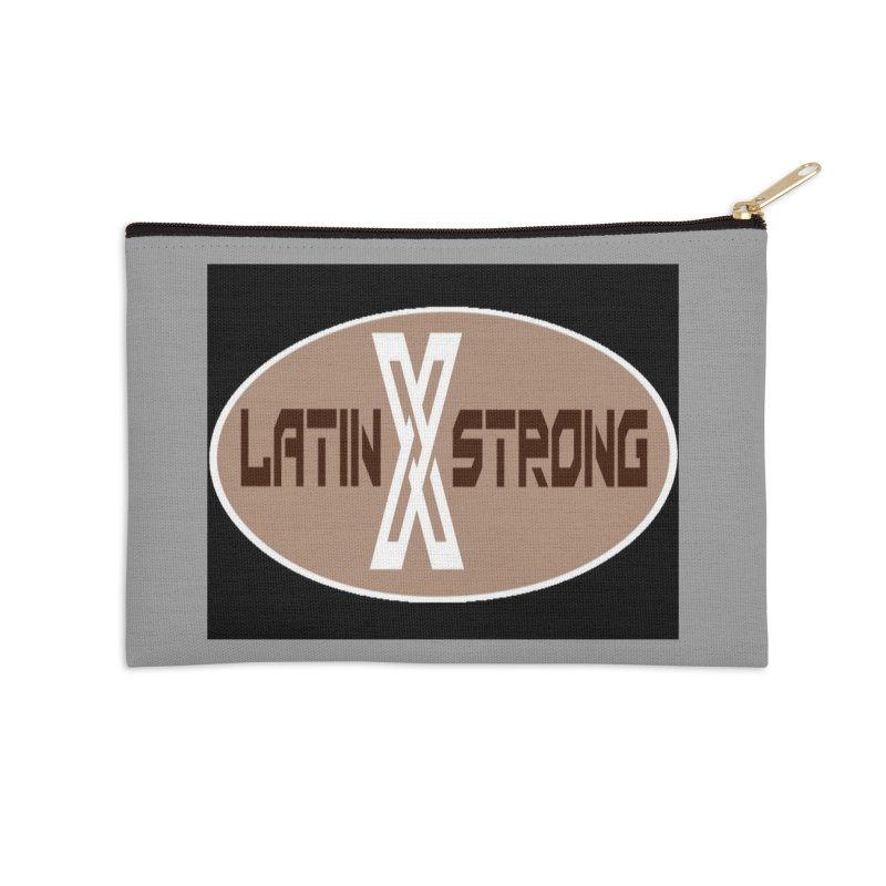 LatinX Strong Accessories Zip Pouch by LatinX Strong