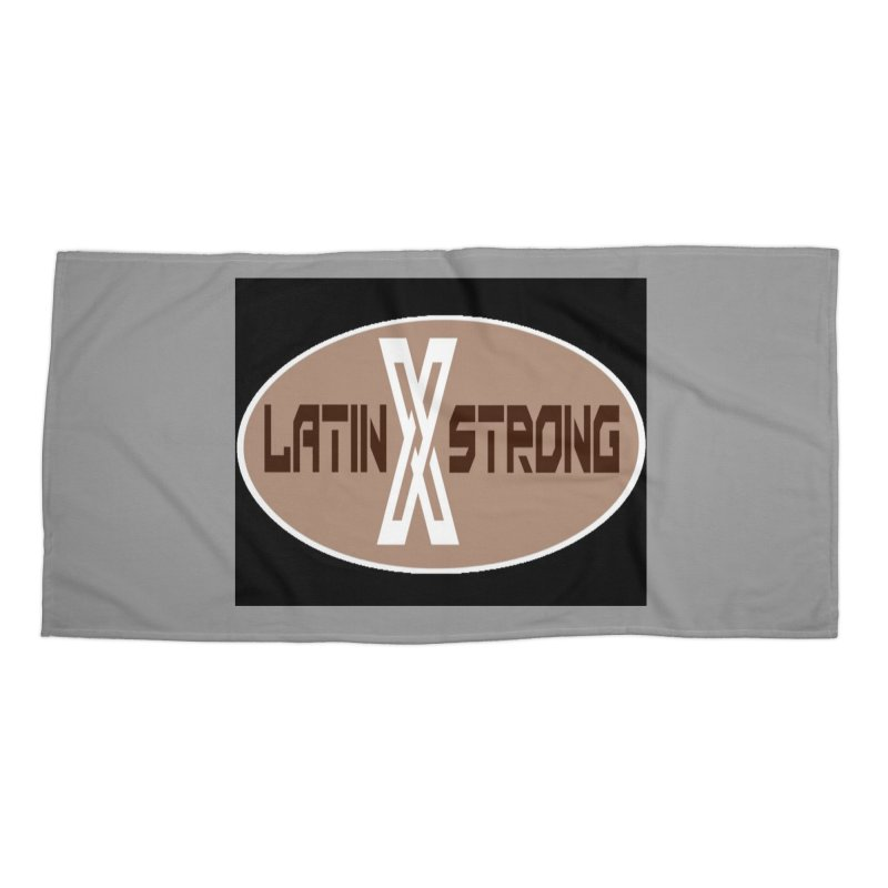 LatinX Strong Accessories Beach Towel by LatinX Strong