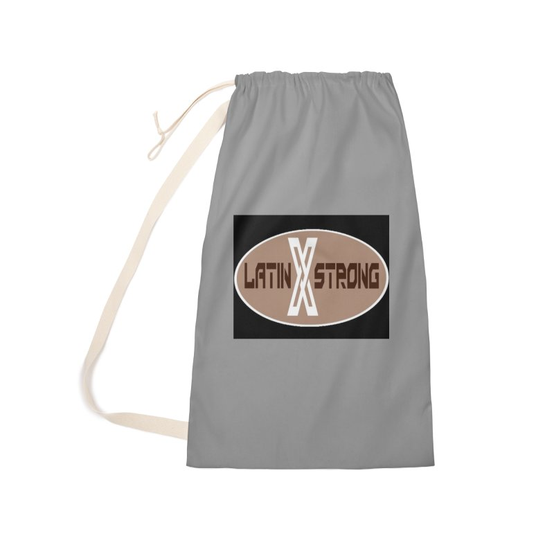 LatinX Strong Accessories Laundry Bag Bag by LatinX Strong