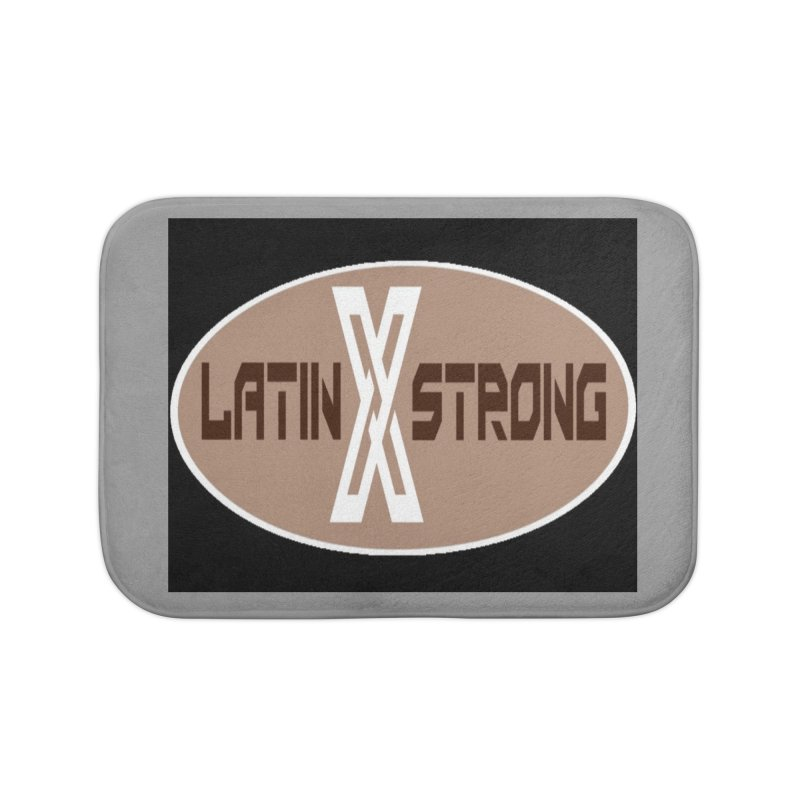 LatinX Strong Home Bath Mat by LatinX Strong