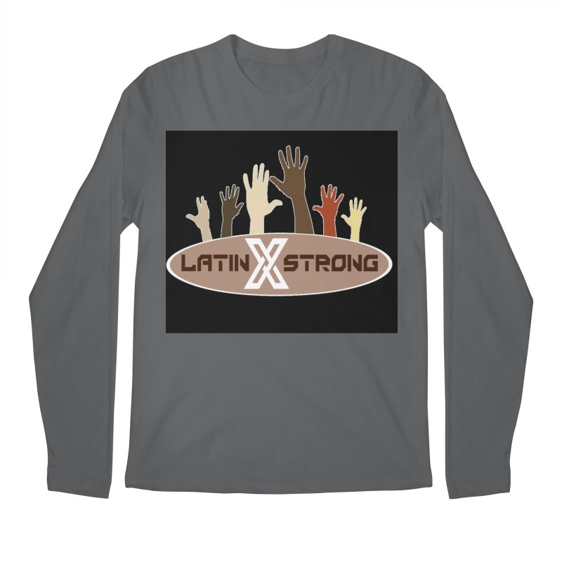LatinX Strong for Change Men's Regular Longsleeve T-Shirt by LatinX Strong