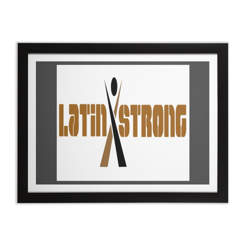 LatinX Strong Vote Home Framed Fine Art Print by LatinX Strong