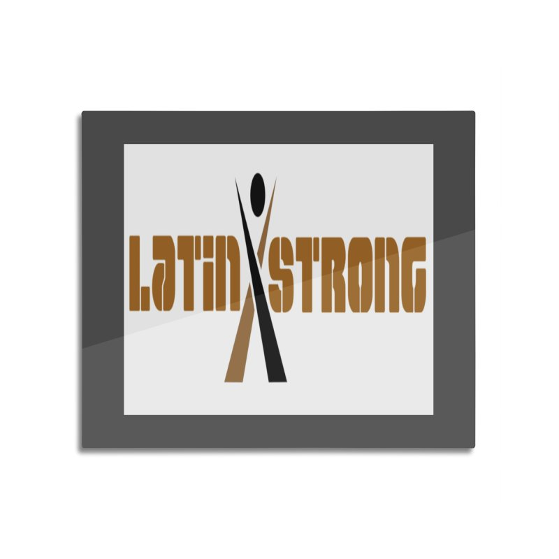 LatinX Strong Vote Home Mounted Acrylic Print by LatinX Strong