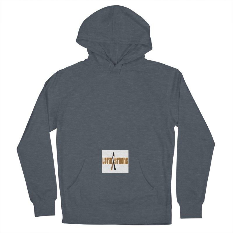 LatinX Strong Vote Men's French Terry Pullover Hoody by LatinX Strong
