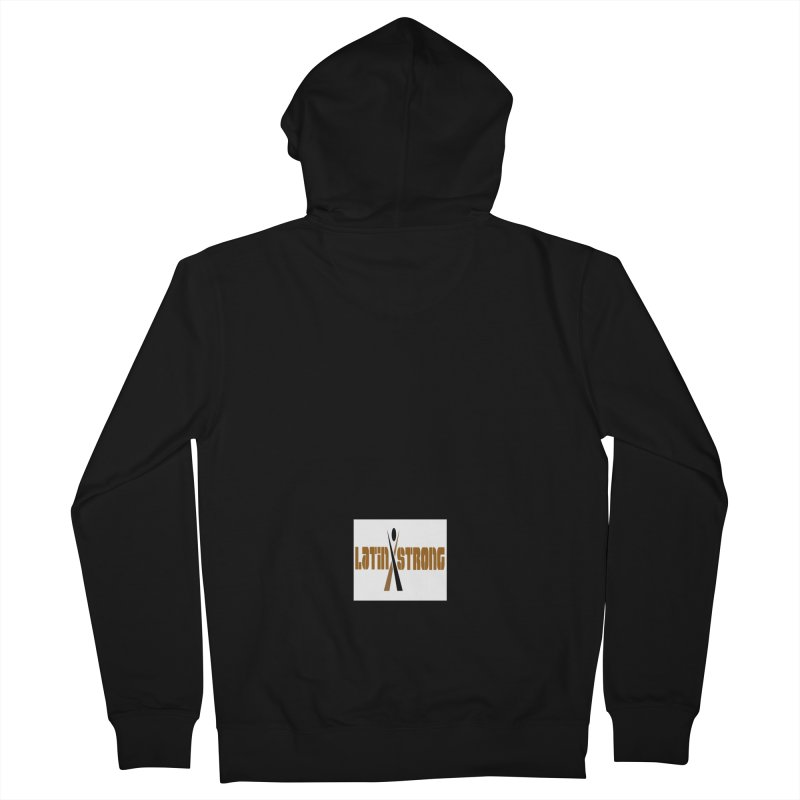 LatinX Strong Vote Men's French Terry Zip-Up Hoody by LatinX Strong