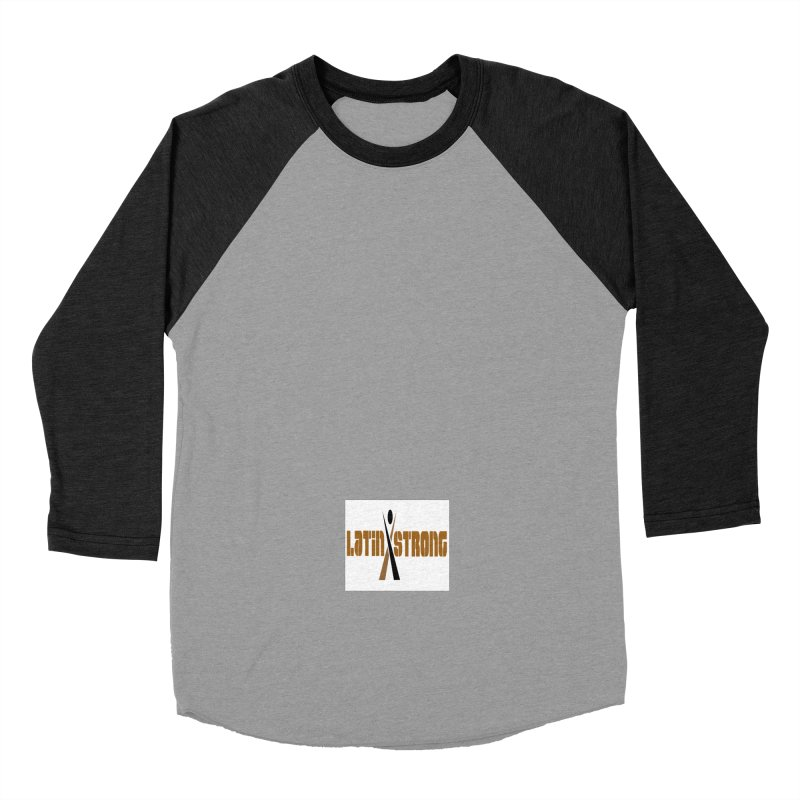 LatinX Strong Vote Men's Baseball Triblend Longsleeve T-Shirt by LatinX Strong