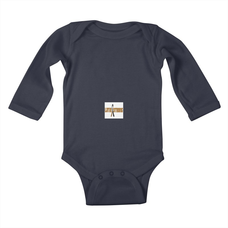 LatinX Strong Vote Kids Baby Longsleeve Bodysuit by LatinX Strong