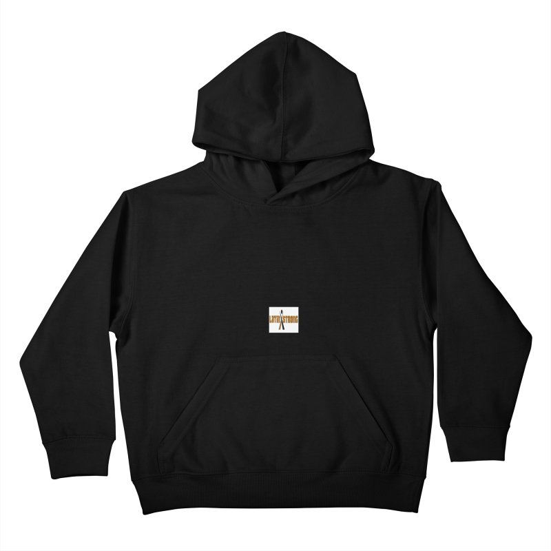 LatinX Strong Vote Kids Pullover Hoody by LatinX Strong