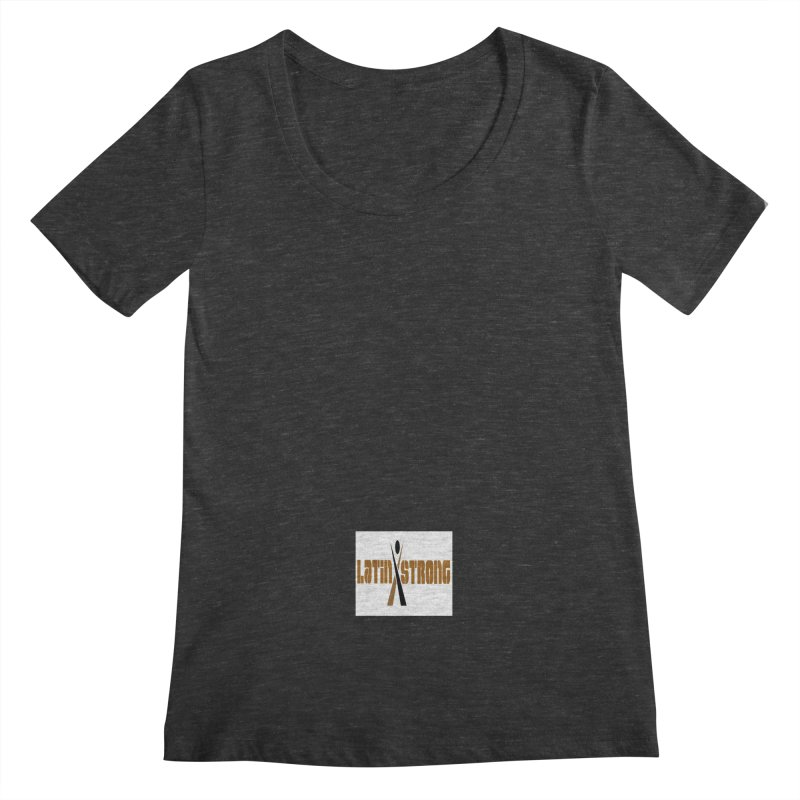 LatinX Strong Vote Women's Scoopneck by LatinX Strong