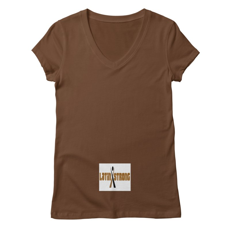 LatinX Strong Vote Women's Regular V-Neck by LatinX Strong