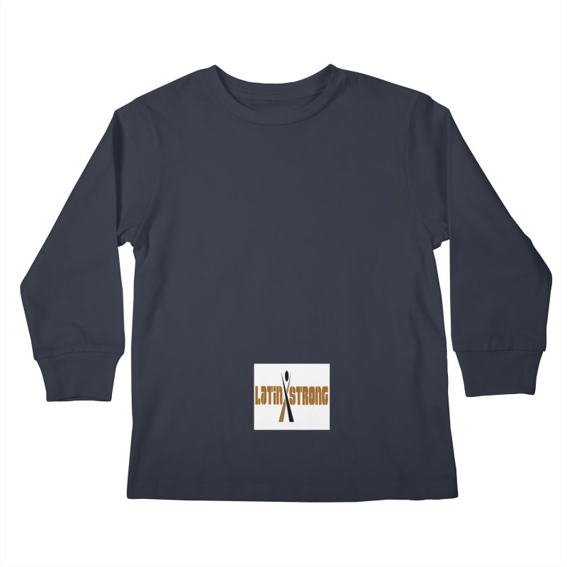 LatinX Strong Vote Kids Longsleeve T-Shirt by LatinX Strong