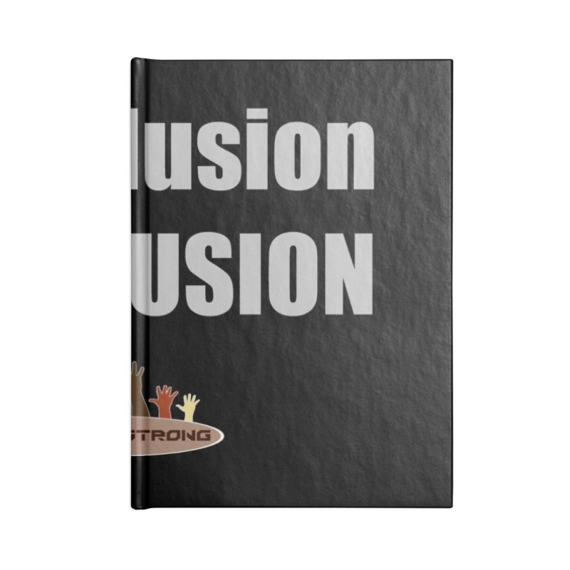 No Collusion His ILLUSION Accessories Lined Journal Notebook by LatinX Strong