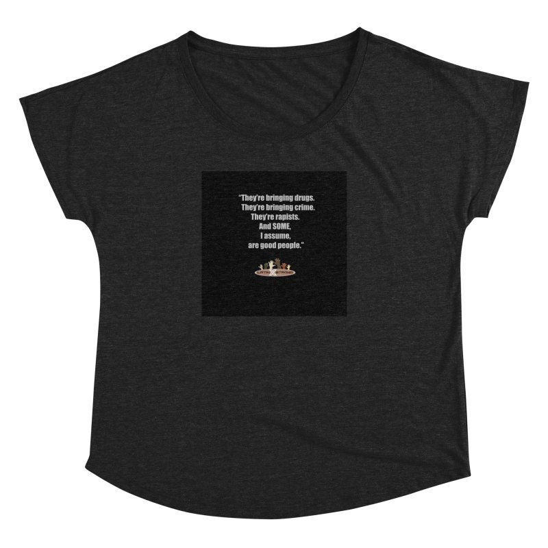 Some by LatinX Strong Women's Dolman Scoop Neck by LatinX Strong