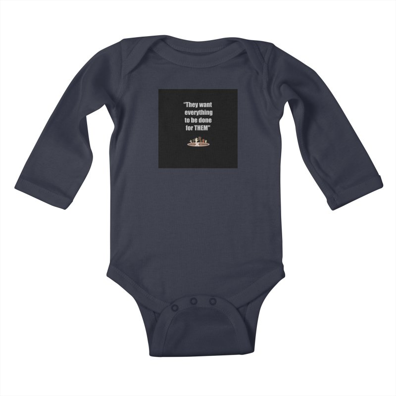 THEM by LatinX Strong Kids Baby Longsleeve Bodysuit by LatinX Strong