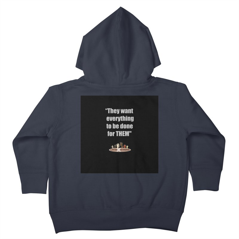 THEM by LatinX Strong Kids Toddler Zip-Up Hoody by LatinX Strong