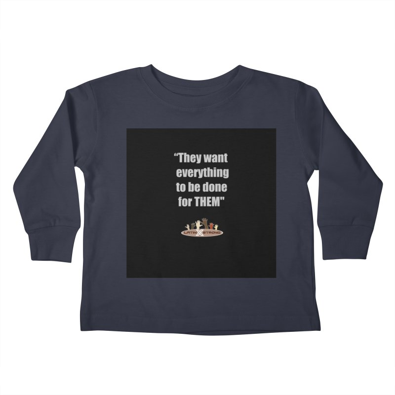 THEM by LatinX Strong Kids Toddler Longsleeve T-Shirt by LatinX Strong