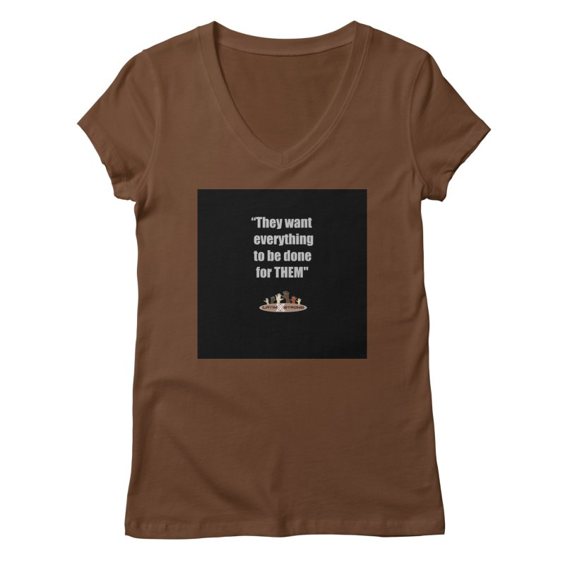 THEM by LatinX Strong Women's Regular V-Neck by LatinX Strong