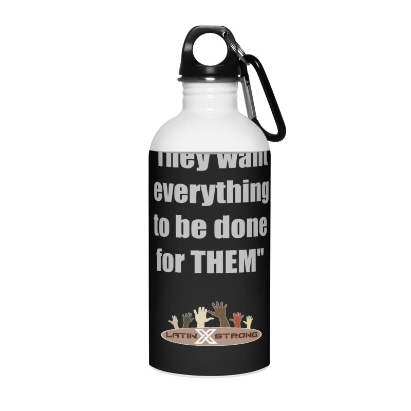 THEM by LatinX Strong Accessories Water Bottle by LatinX Strong