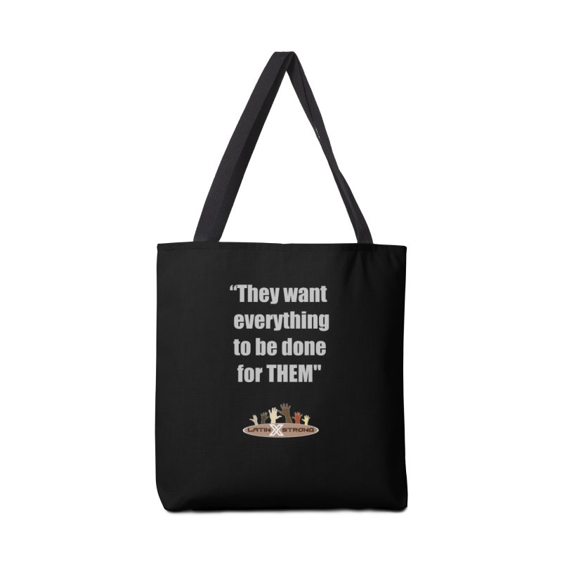 THEM by LatinX Strong Accessories Tote Bag Bag by LatinX Strong