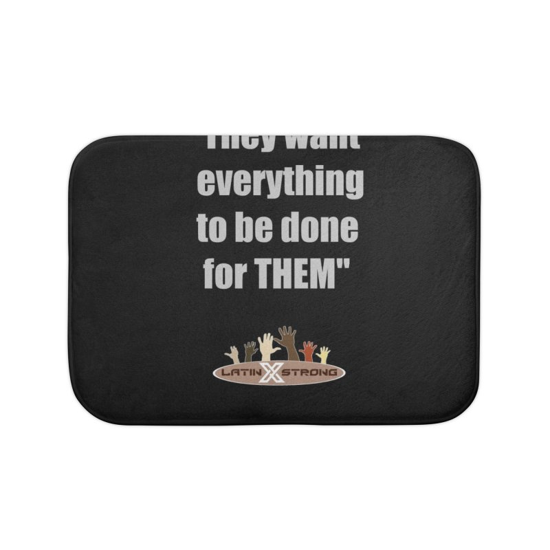 THEM by LatinX Strong Home Bath Mat by LatinX Strong